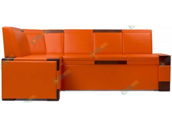Квадро кухонный угловой диван арт. 191242-РЦ фото