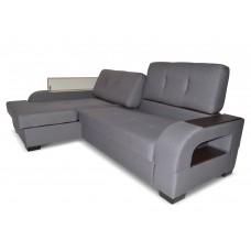 Угловой диван Верона с оттоманкой Левый